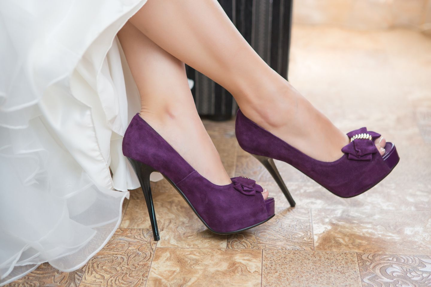 Purple wedding shoes with high heels, Album Inspirations, Picture 297
