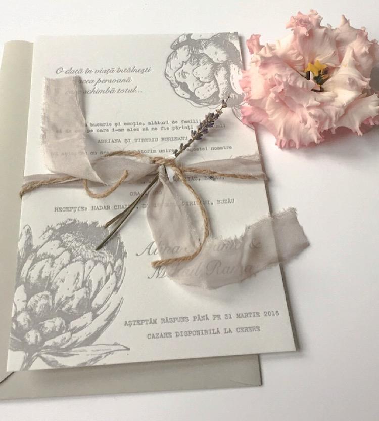 Ink Paper Art Invitatii De Nunta