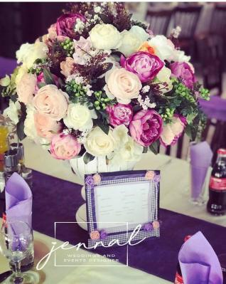 Jennal Weddings and Events Designer